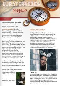 újratervezés magazin1