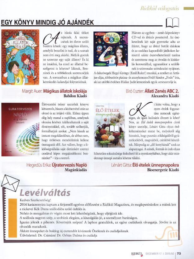 Ridikül 2015dec17 könyv